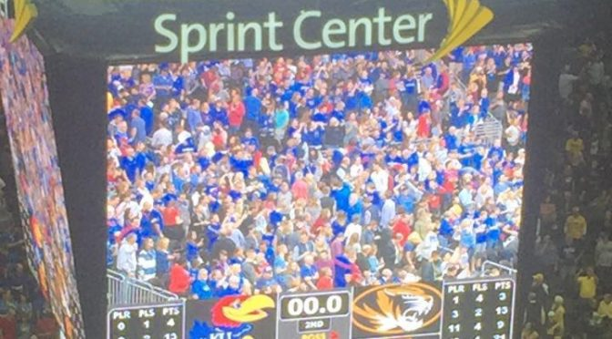 Missouri and Kansas Exhibition Charged Like In-Season Game
