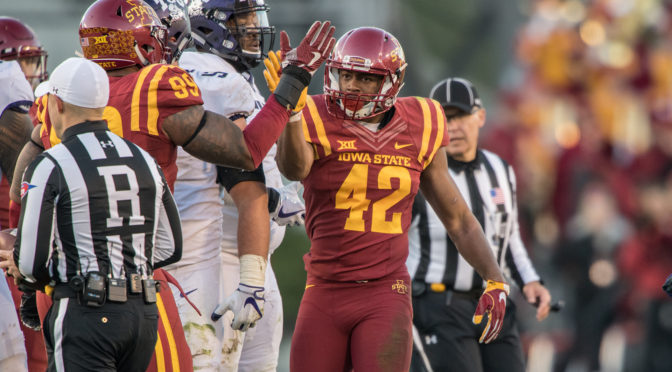 Former KU and MU Football Prospect Pays Off—For Iowa State